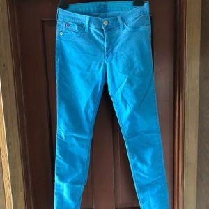 Hudson Jeans MIDRISE NICO SUPER SKINNY blue